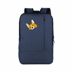 Рюкзак для ноутбука Corgi is dozing