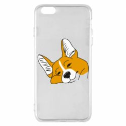 Чохол для iPhone 6 Plus/6S Plus Corgi is dozing