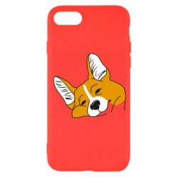 Чохол для iPhone 7 Corgi is dozing