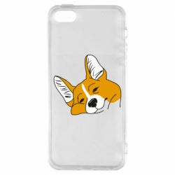 Чохол для iphone 5/5S/SE Corgi is dozing