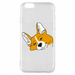 Чохол для iPhone 6/6S Corgi is dozing