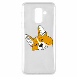 Чохол для Samsung A6+ 2018 Corgi is dozing