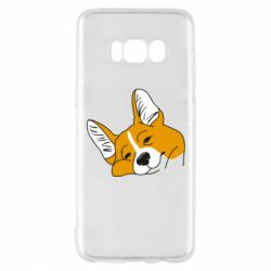 Чохол для Samsung S8 Corgi is dozing