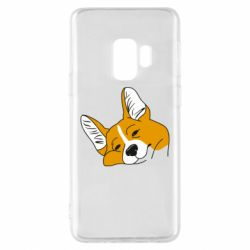 Чохол для Samsung S9 Corgi is dozing