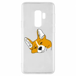 Чохол для Samsung S9+ Corgi is dozing