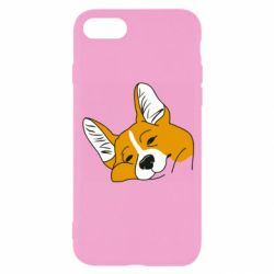 Чохол для iPhone 8 Corgi is dozing