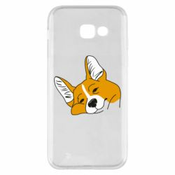 Чохол для Samsung A5 2017 Corgi is dozing