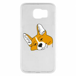 Чохол для Samsung S6 Corgi is dozing