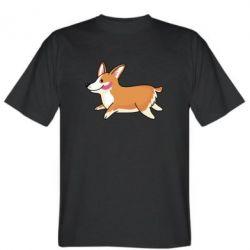 Мужская футболка Corgi