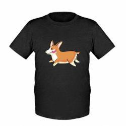 Дитяча футболка Corgi