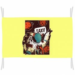 Прапор Cosmonaut and taxi