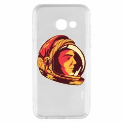 Чехол для Samsung A3 2017 Cosmonaut in a spacesuit