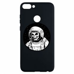 Чохол для Huawei P Smart Cosmonaut skeleton - FatLine
