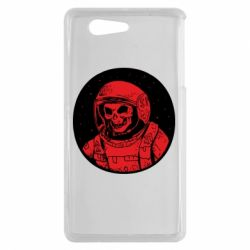 Чохол для Sony Xperia Z3 mini Cosmonaut skeleton - FatLine