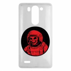 Чохол для LG G3 Mini/G3s Cosmonaut skeleton - FatLine