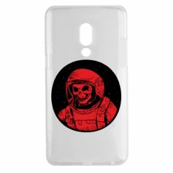 Чохол для Meizu 15 Plus Cosmonaut skeleton - FatLine