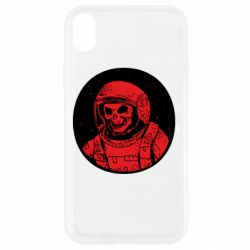 Чохол для iPhone XR Cosmonaut skeleton - FatLine