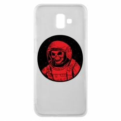 Чохол для Samsung J6 Plus 2018 Cosmonaut skeleton - FatLine