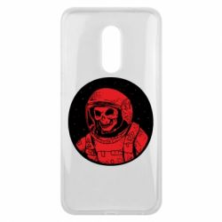 Чохол для Meizu 16 plus Cosmonaut skeleton - FatLine