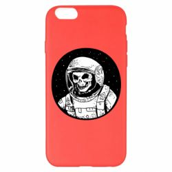 Чохол для iPhone 6 Plus/6S Plus Cosmonaut skeleton - FatLine