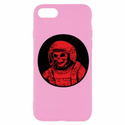 Чохол для iPhone 7 Cosmonaut skeleton - FatLine
