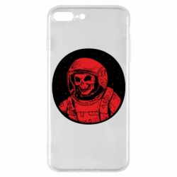 Чохол для iPhone 7 Plus Cosmonaut skeleton - FatLine