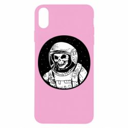 Чохол для iPhone X/Xs Cosmonaut skeleton - FatLine