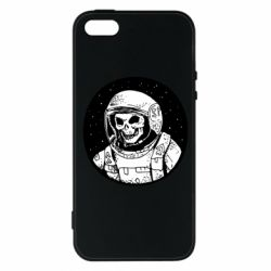 Чохол для iphone 5/5S/SE Cosmonaut skeleton - FatLine