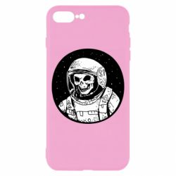 Чохол для iPhone 8 Plus Cosmonaut skeleton - FatLine