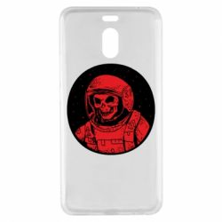Чохол для Meizu M6 Note Cosmonaut skeleton - FatLine