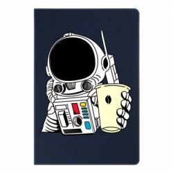 Блокнот А5 Cosmonaut with a coffee