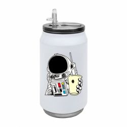 Термобанка 350ml Cosmonaut with a coffee