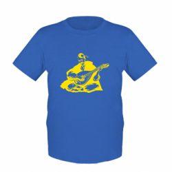 Детская футболка Cossack and Pandora