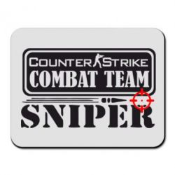 Коврик для мыши Counter Strike Combat Team Sniper