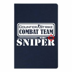 Блокнот А5 Counter Strike Combat Team Sniper