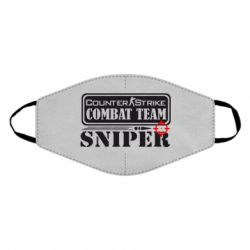Маска для лица Counter Strike Combat Team Sniper