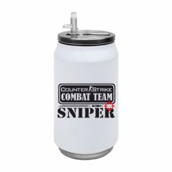 Термобанка 350ml Counter Strike Combat Team Sniper