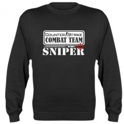 Реглан (свитшот) Counter Strike Combat Team Sniper - FatLine