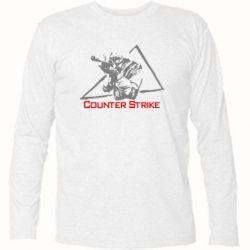 Футболка с длинным рукавом Counter Strike Gamer - FatLine