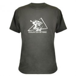 Камуфляжная футболка Counter Strike Gamer