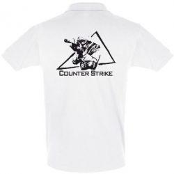 Мужская футболка поло Counter Strike Gamer