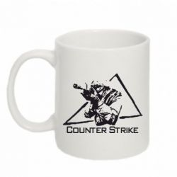 Кружка 320ml Counter Strike Gamer