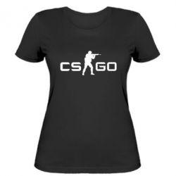 Женская футболка Counter Strike GO - FatLine