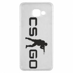 Чехол для Samsung A3 2016 Counter Strike GO
