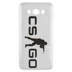 Чехол для Samsung J7 2016 Counter Strike GO
