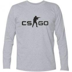 Футболка с длинным рукавом Counter Strike GO - FatLine