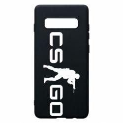 Чехол для Samsung S10+ Counter Strike GO