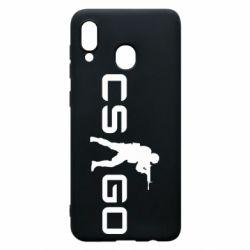 Чехол для Samsung A20 Counter Strike GO