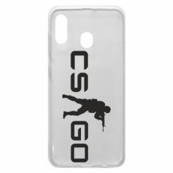 Чехол для Samsung A30 Counter Strike GO