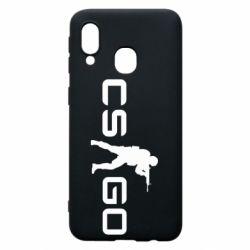Чехол для Samsung A40 Counter Strike GO